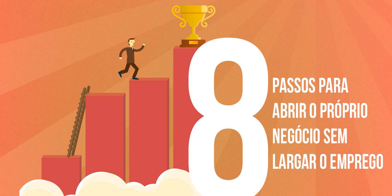 8 Passos para abrir o próprio negócio sem largar o emprego
